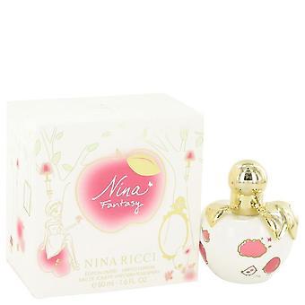 Nina fantasy eau de toilette spray (limited edition) by nina ricci 492767 50 ml