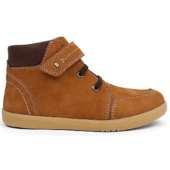 Bobux Kid+ Boys Timber Boots Mustard