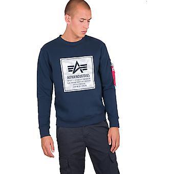 Alpha Industries Men's Sweatshirt Camo Block
