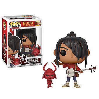 Kubo and the Two Strings Kubo with Little Hanzo Pop! Vinyl