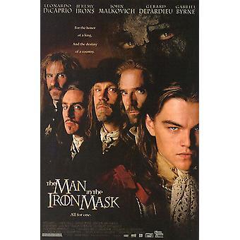 Rauta naamion mies (yksipuolinen tavallinen) alkuperäinen elokuva juliste