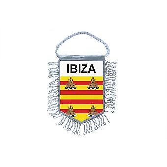 Sinalizar mini bandeira país carro decoração Ibiza Espanha