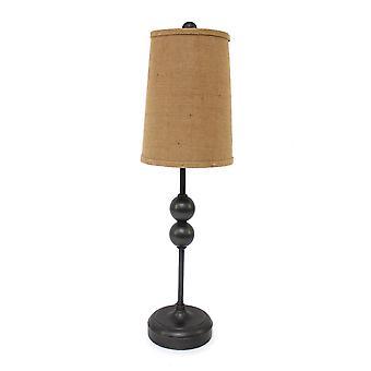 "8 ""x 7"" x 29 ""bronze, minimalistisk-accent bordlampe"