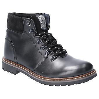 Base London Mens Fawn Burnished Lace Up Boot