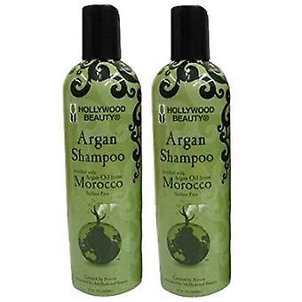 Hollywood Argan Shampoo 12oz (2 Pack)