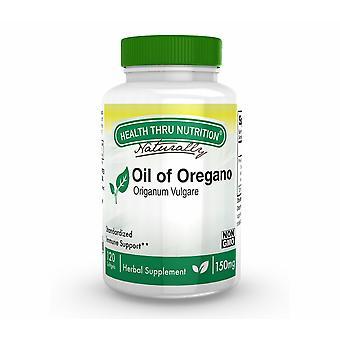 Öl von Oregano (Wild) 150 mg (nicht GVO) (120 Softgels) - Health Thru Nutrition