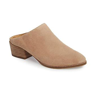 Lucky Brand Womens LK- Glennie Leather Almond Toe Clogs
