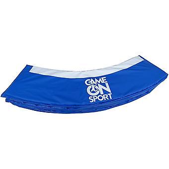 Spill på Sports Trampoline beskyttende kant 366 cm blå
