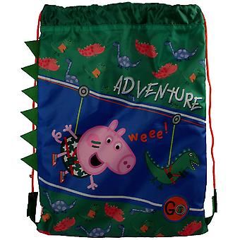 Peppa Pig Childrens/Kids Adventure Trainer Drawstring Bag