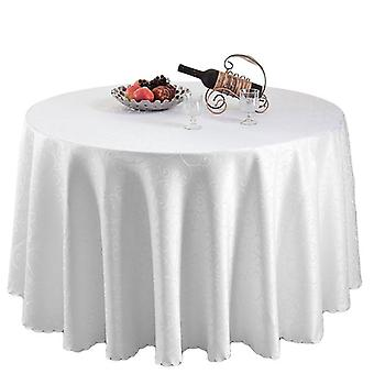 "90"" Round Damask Tablecloth"