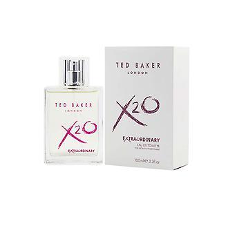 Ted Baker X20 Extraordinary Women Eau de Toilette Spray 100ml
