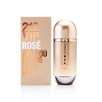 212 vip rose de carolina herrera para mujeres 2.7 oz eau de parfum spray