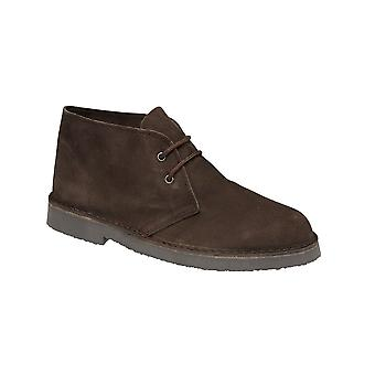 Roamers Dark Brown Real Ante Desert Bota Sin Forro Tpr Sole