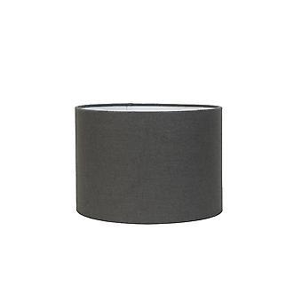 Licht & Living Zylinder Schatten 45x45x20cm Livigno Dunkelgrau