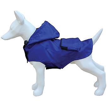 Freedog Waterproof Blue Pocket (Dogs , Dog Clothes , Raincoats)