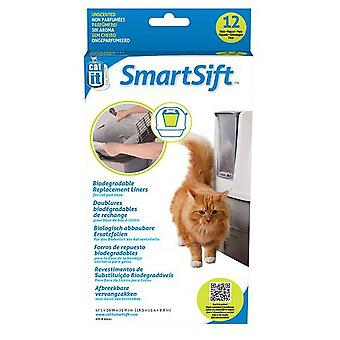 Catit SmartSift Biodegradable Replacement Liners for Cat Pan Base