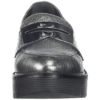 LFL by Lust for Life Womens Tilt Leather Almond Toe Loafers