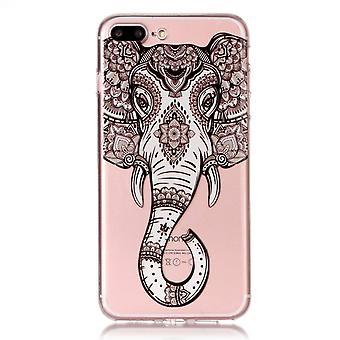 Skal med elefant - iPhone 8 plus