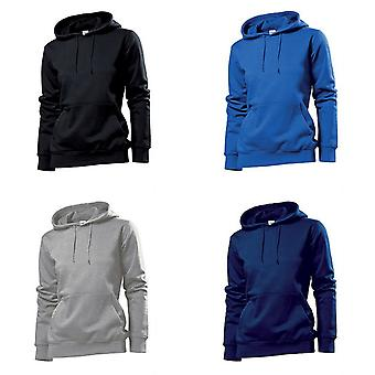 Stedman Womens/Ladies Hooded Sweat