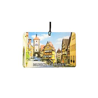 Munich - Germany Car Air Freshener