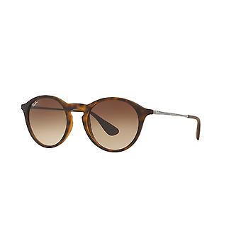 Ray-Ban RB4243 865/13 Rubber Havana/Brown Gradient Sunglasses