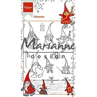 Marianne Design Clear Stamp Hetty's Gnomes HT1639 10,5 x 18,5 cm