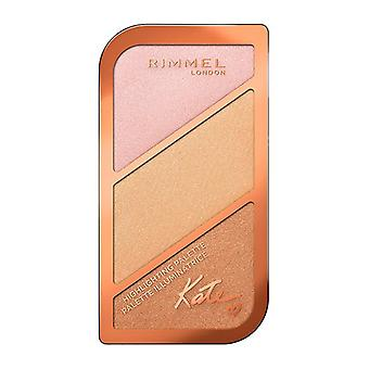 Highlighter Kate Sculpting Rimmel London/002 - Korallenglühen - 18,5 g