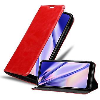 Futerał Cadorabo do obudowy WIKO View 3 LITE case case cover - etui na telefon komórkowy z magnetycznym zapięciem, funkcją stojaka i komorą na kartę - Obudowa ochronna Case Book Folding Style