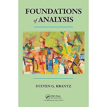 Foundations of Analysis by Steven G. Krantz - 9781482220742 Book