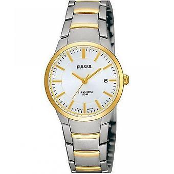 Pulsar zegarki męskie zegarek titanium pulsar-PH7128X1
