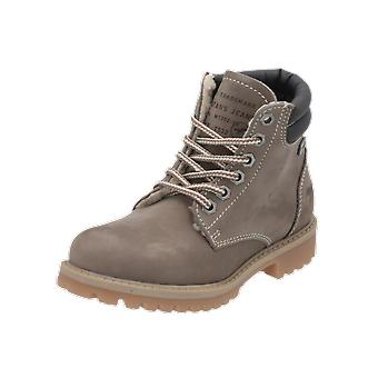 Mustang 5850601 Kids Boys Boots Grey Lace-Up Boots Winter