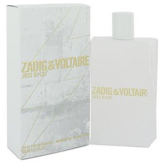 Just Rock Eau De Parfum Spray By Zadig & Voltaire 3.3 oz Eau De Parfum Spray