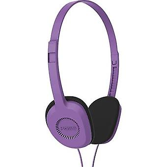 KOSS KPH8v On-ear headphones On-ear Light-weight headband Violet