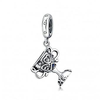 Sterling Silver Pendant Charm Championship Trophy - 6590
