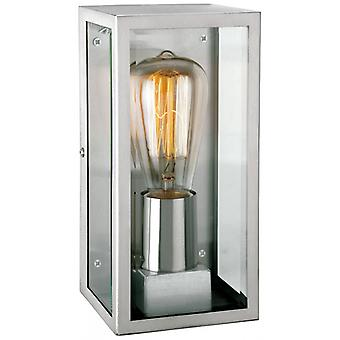 Dallas Wall Lamp, Stainless Steel