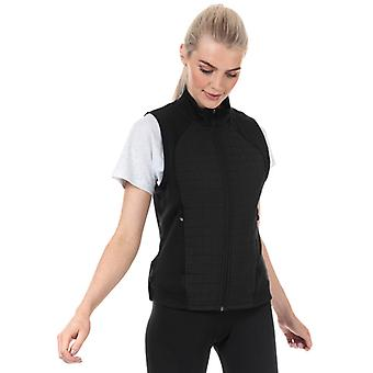 Mulheres's adidas Climawarm Quilted Vest in Black