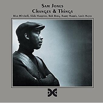 Sam Jones - Changes & Things [CD] USA import