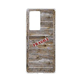 Hull For Huawei P40 Pro Soft Wooden Caisse