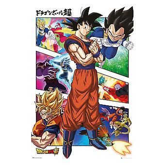 Dragon Ball Super, Maxi Poster - Panels