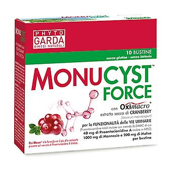 Monucyst force 10 packets