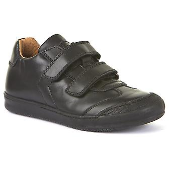 Froddo Boys G3130133 School Shoes Black Leather