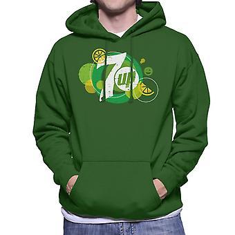 7UP Popfizz Lemon Logo Men's Hooded Sweatshirt