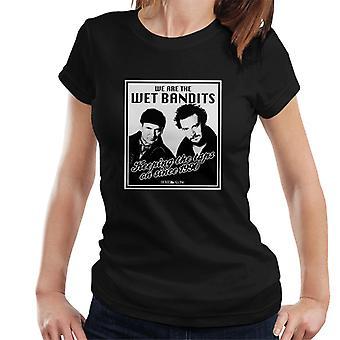 Home Alone Wet Bandits Women's T-Shirt