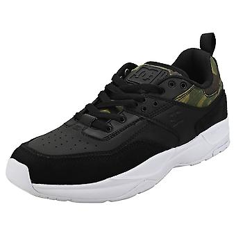 DC Shoes E.tribeka Se Mens Skate Trainers in Black Camouflage