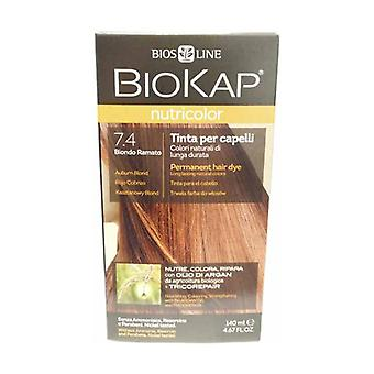 Hair color 7.4 Auburn blonde 140 ml
