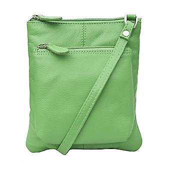 Primehide Womens Small Leather Handbag Crossbody Shoulder Everyday Bag 980