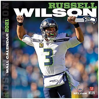 NFL Seinäkalenteri 2021 Seattle Seahawks Russel Wilson