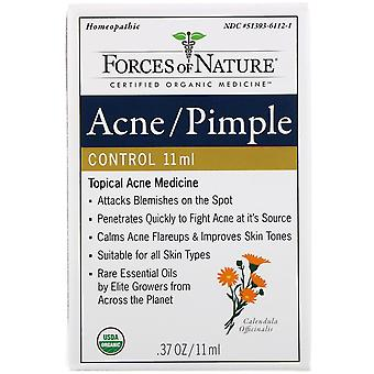 Forces of Nature, Acne/Pimple Control, 0.37 oz (11 ml)