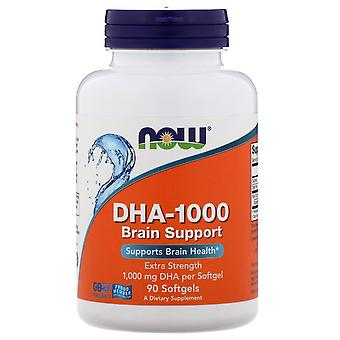 Nu Foods, DHA-1000 Brain Support, Extra Strength, 1.000 mg, 90 Softgels