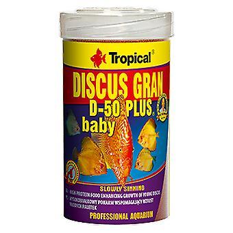 Tropical Discus Gran D-50 Plus Baby 250 Ml (Fish , Food , Warm Water)